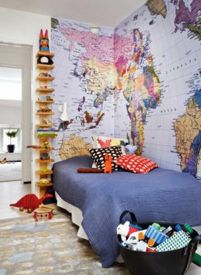 Tapeten-für-Kinderzimmer-ein-Traum-von-Reisen