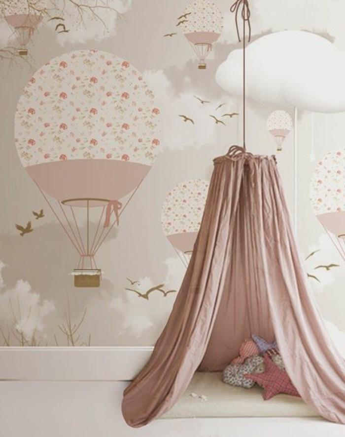 Tapeten-für-Kinderzimmer-mit-Luftballonen