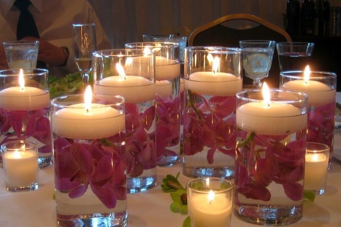 Tischdeko aus glas originelle ideen und tricks - Tischdeko brautpaar ...