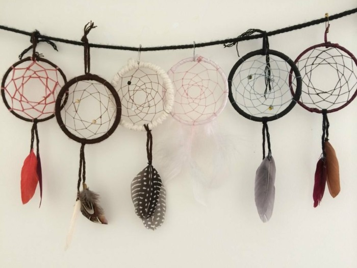 Traumf nger selber basteln zauber f r ruhigen schlaf for How to make dream catchers easy