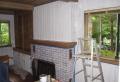 Wandverkleidung Holz: Weiße Glasur auf Holz-Wandverkleidungen