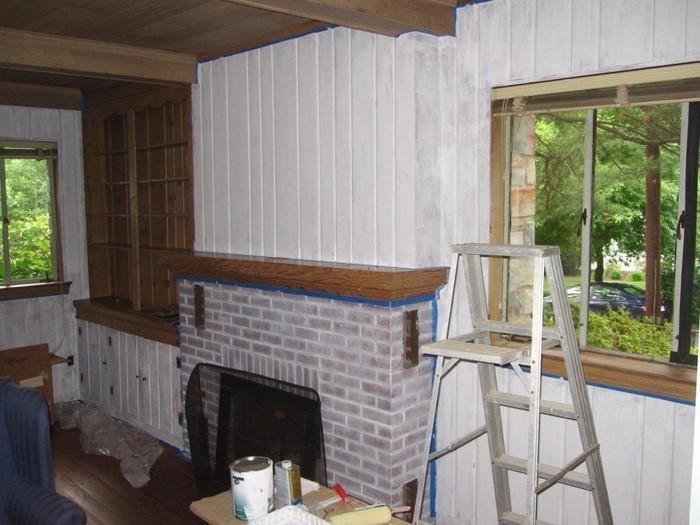 Wandverkleidung Holz Entfernen ~ Wandverkleidung Holz Weiße Glasur auf Holz Wandverkleidungen