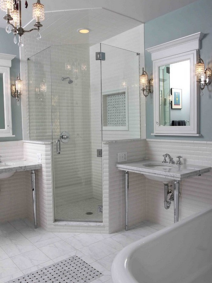 Wohnideen f r badezimmer moderne duschkabinen - Walk in showers for small spaces property ...