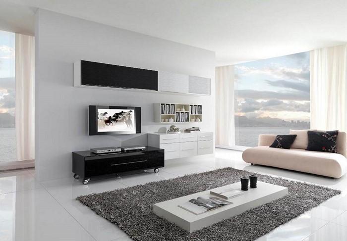 stunning wohnzimmer schwarz weiss gestalten ideas - house design ... - Wohnzimmer Schwarz Weiss Gestalten