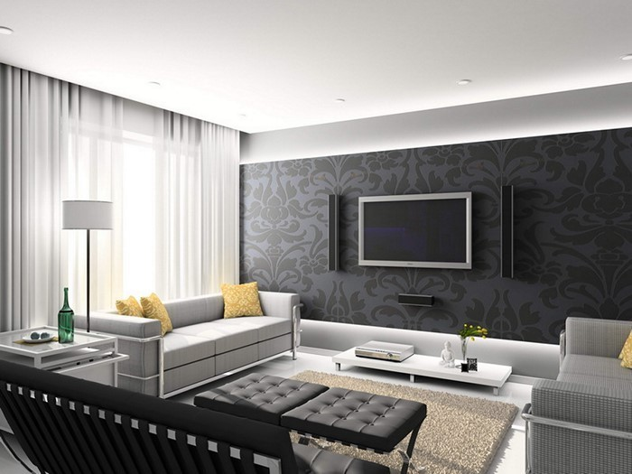 Design Wohnzimmer Weiss Gestalten Wohnzimmergestaltung Dumss