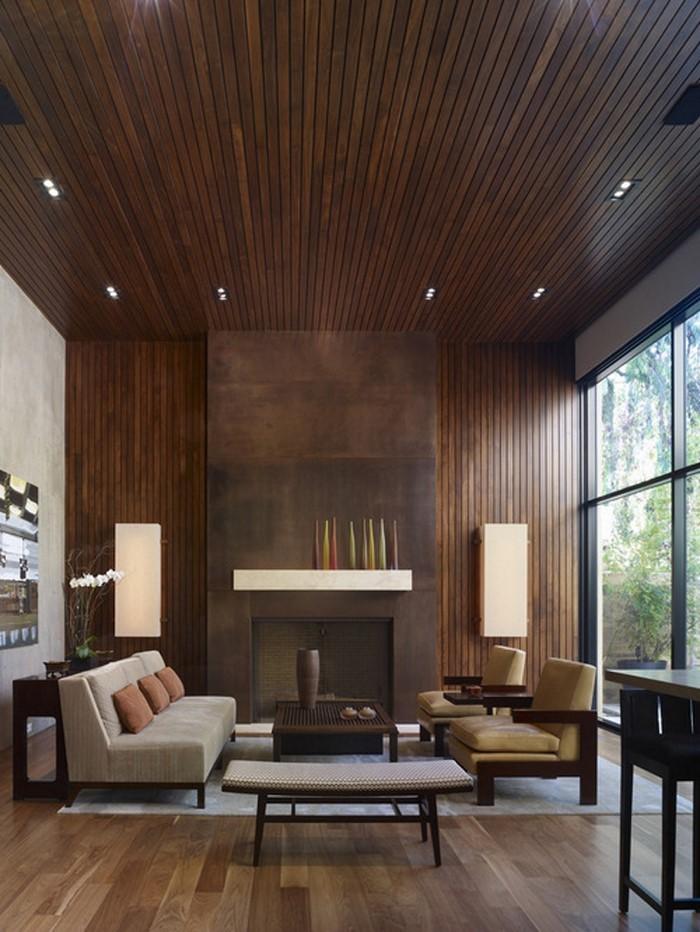 Wohnzimmer-gestalten-mit-einem-Holzakzent