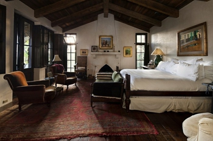 Zimmer-einrichten-mit-großem-Bett