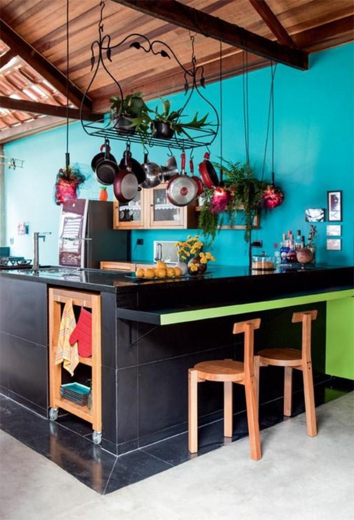 attraktive-küche-ausstatten-wandfarben-vorschläge