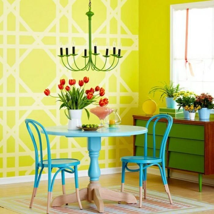100 interieur ideen mit grellen wandfarben for Wandfarben palette