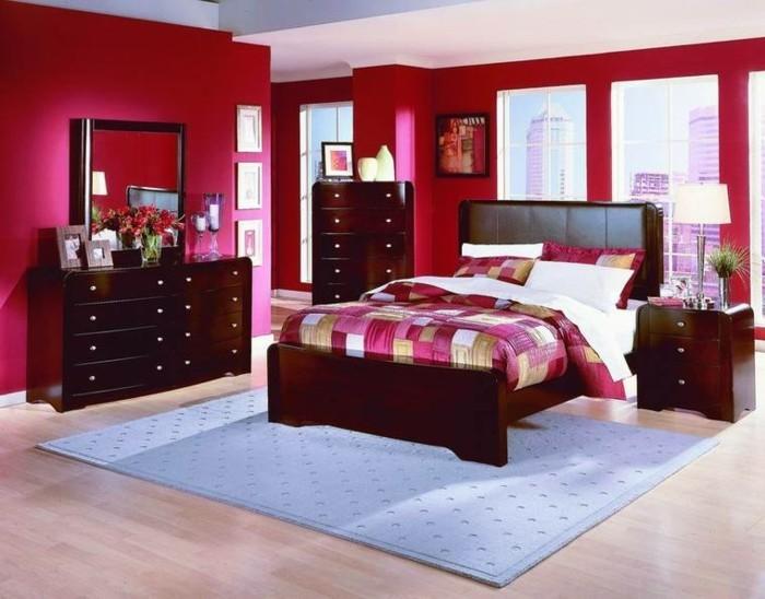 attraktives-modell-schlafzimmer-wandfarben-vorschläge