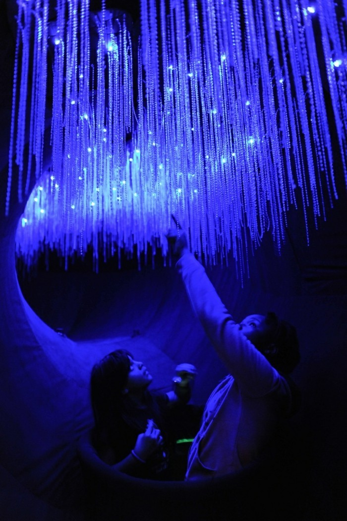 blaue-wunder-entzückender-anblick
