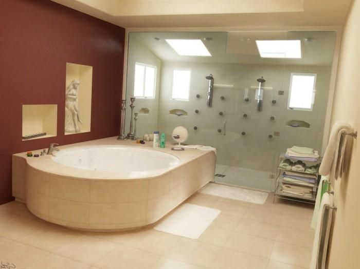 braune-wandgestaltung-eine-badezimmerwand-in-braun
