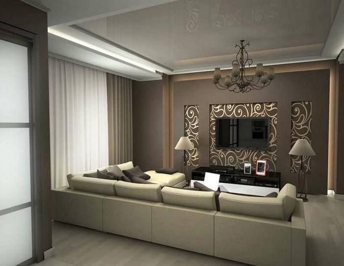braune-wandgestaltung-eine-gemütliche-wohnung-mit-braunen-wänden