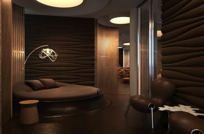 braune-wandgestaltung-wände-in-schokoladenfarbe