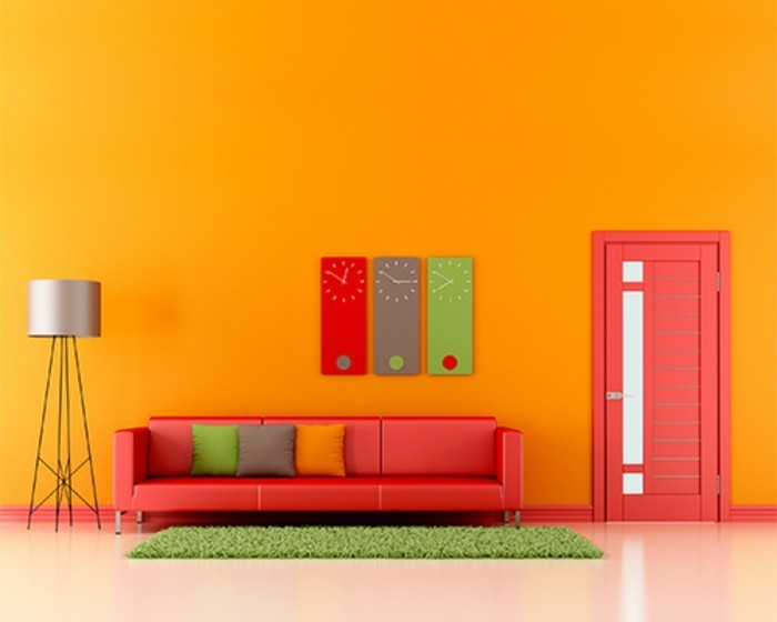 bunte-farben-im-wohnzimmer-interessante-wandfarben-vorschläge