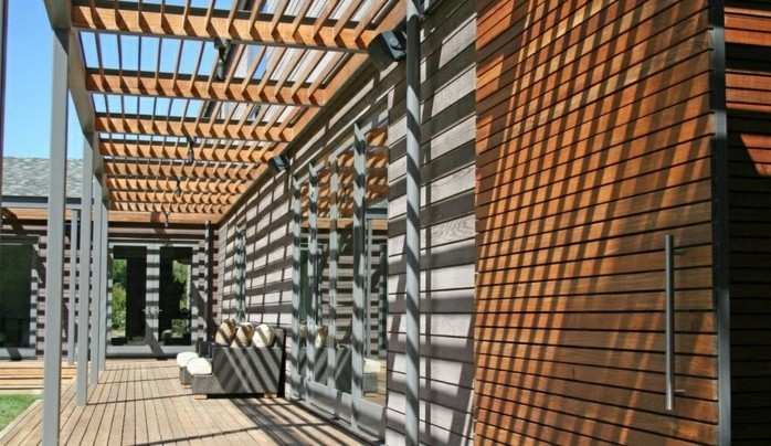 Die Herrliche Pergola Aus Holz In 93 Fotos