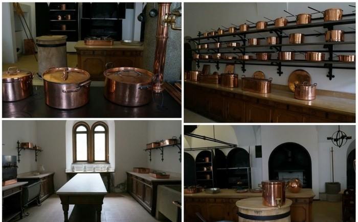 das-Schloss-Neuschwanstein-Küche