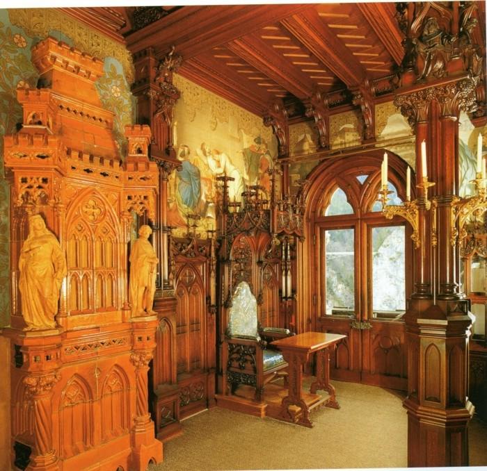 das-Schloss-Neuschwanstein-das-Schlafzimmer4