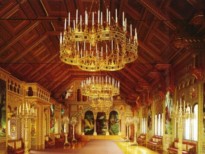 das-Schloss-Neuschwanstein-der- Sängersaal