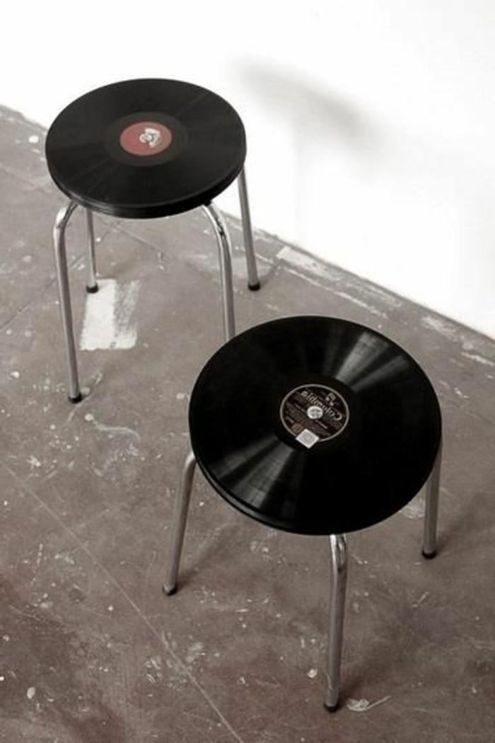 deko-aus-schallplatten-schöne-stühle-aus-schallplatten