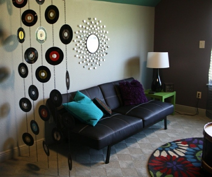 deko-aus-schallplatten-schallplatten-verschönern-die-wohnung