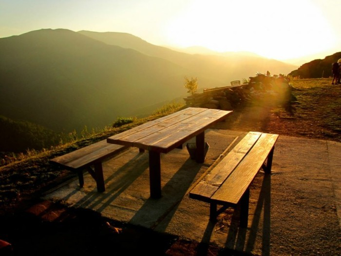 der-berg-ruft-sonnenuntergang-in-dem-nationalpark