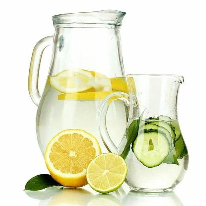 detox-entgiftung-limonade-zitrone-gurke