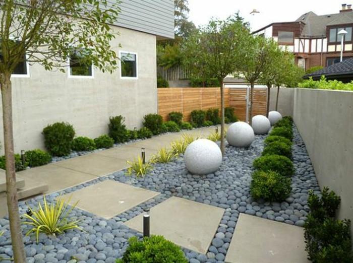 gartenweg-bauen-für-Gartengestaltung-mit-Steinen