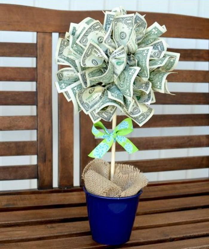geldgeschenk-hochzeit-Geldblume-in-einem-Kasten