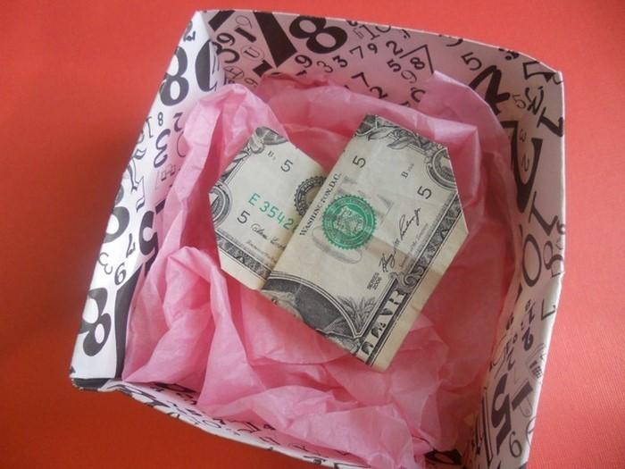 geldgeschenk-hochzeit-die-Art-und-Weise-von-Geldverpackung