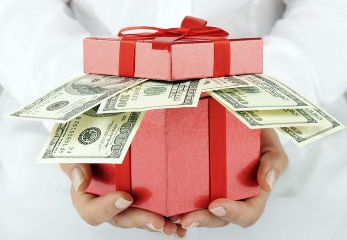 geldgeschenk-hochzeit-ein-Kasten-voller-Geldes