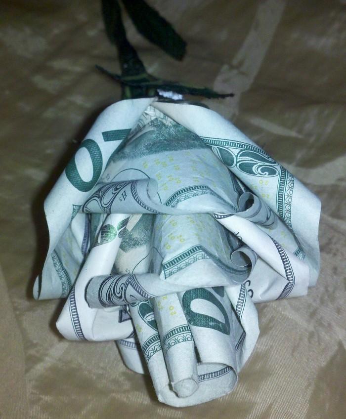 geld verpacken als geschenk