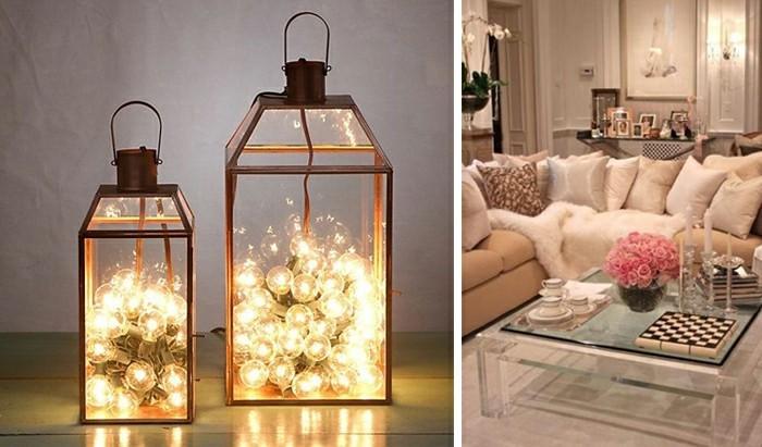 gemütliches-wohnzimmer-gestalten-lichterkette-accessoire-glastisch-sofa-rosen