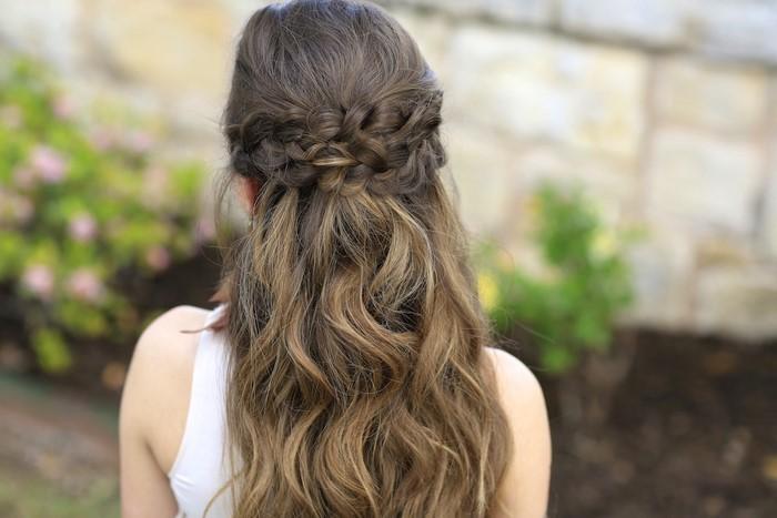 Flechtfrisuren lange haare sommer