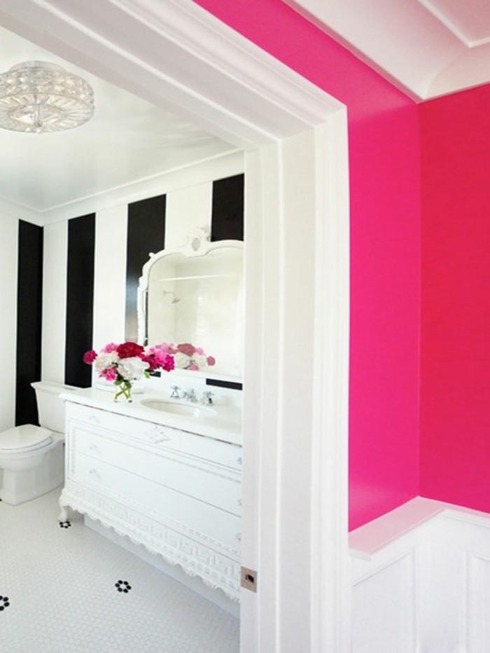 kreative-auffällige-wandfarben-vorschläge-rosige-wände