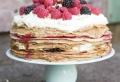 Pfannkuchen Torte: einfach, schnell und lecker