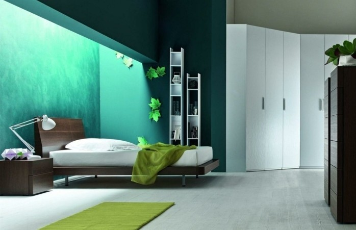 Charmant 100 Interieur Ideen Mit Grellen Wandfarben!