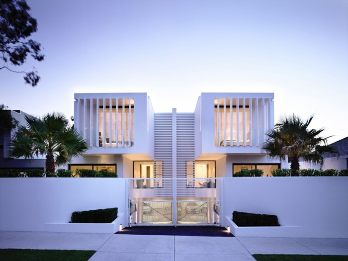 56 ausgefallene ideen f r moderne fassaden. Black Bedroom Furniture Sets. Home Design Ideas