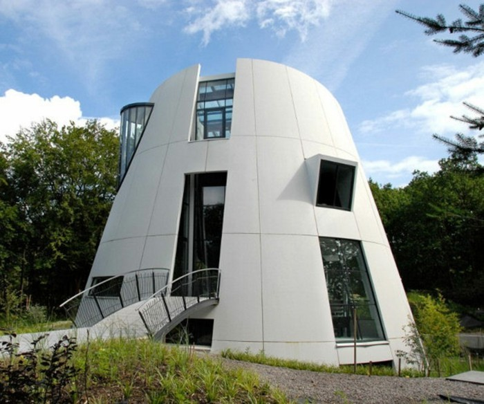 Wunderbar Moderne Fassaden Außergewöhnliche Ideen Für Moderne Hausfassaden