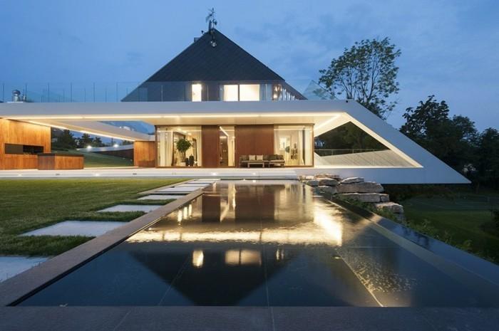 Fassade glas haus  56 ausgefallene Ideen für moderne Fassaden! - Archzine.net