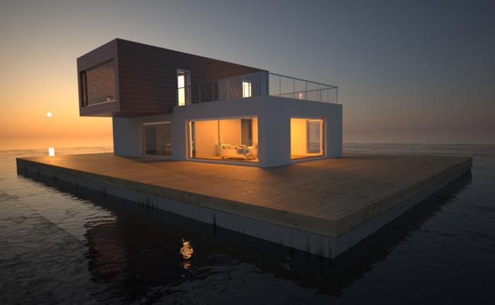 Moderne Fassaden Ein Sehr Schönes Beispiel Für Moderne