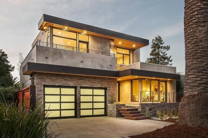 Moderne fassaden originelle hausfassade gestalten