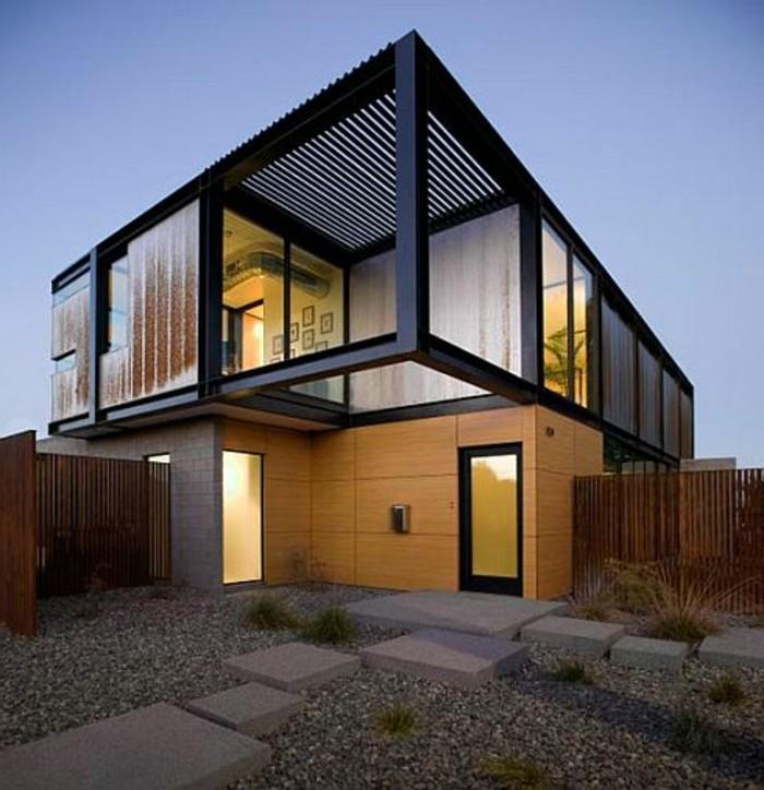 Moderne fassaden wollen sie eine originelle hausfassade gestalten
