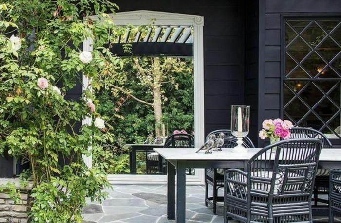 Moderne gartengestaltung 110 inspirierende ideen in - Gartengestaltung rosengarten ...