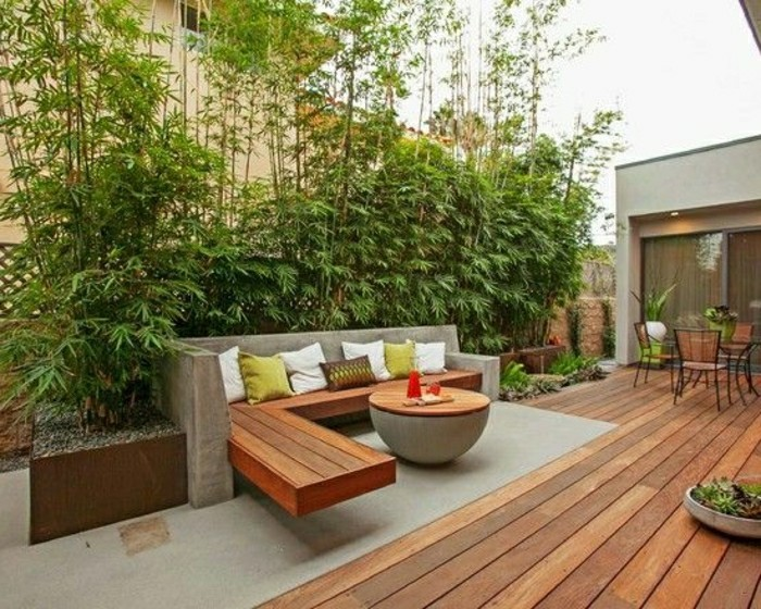 Sichtschutz Holz Und Pflanzen ? Patrial.info Sichtschutz Balkon Varianten Aus Holz