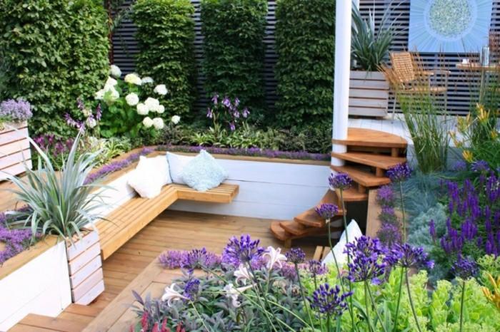 moderne-gartengestaltung-sitzecke-und-holz-treppe