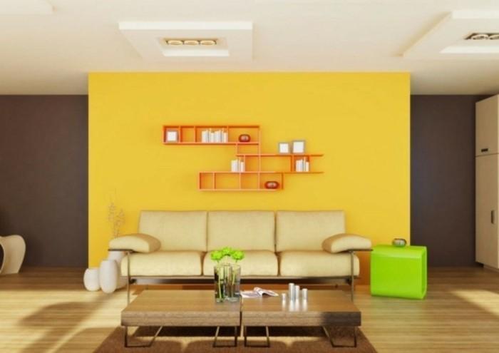moderne-interessante-wandfarben-ideen-cooles-wohnzimmer-interieur