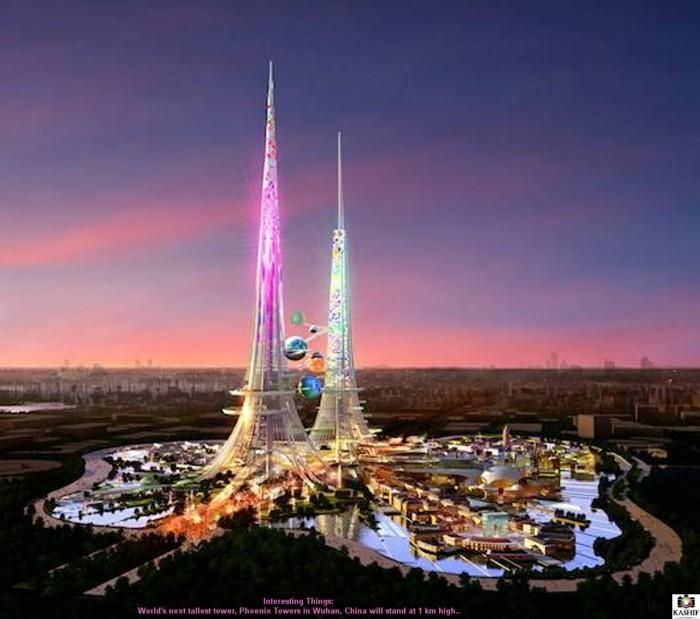 moderne-wolkenkratzer-Phoenix- Towers