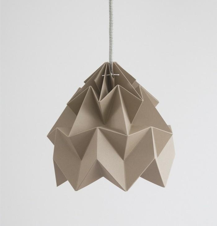 origami-lampenschirm-ausgefallener-origami-lampenschirm