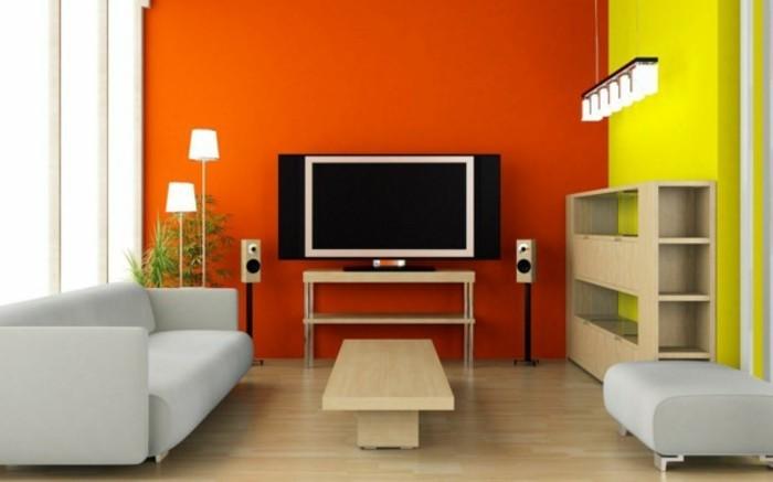 originelle-wandfarben-ideen-fürs-wohnzimmer
